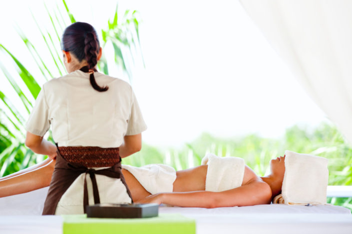 Traditionelle Thaimassage - Beispielbild