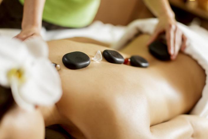 Hot Stone Massage - Beispielbild