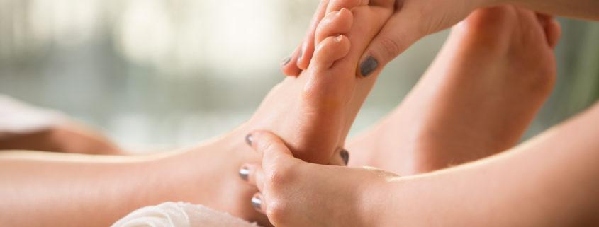 Fußmassage - Beispielbild
