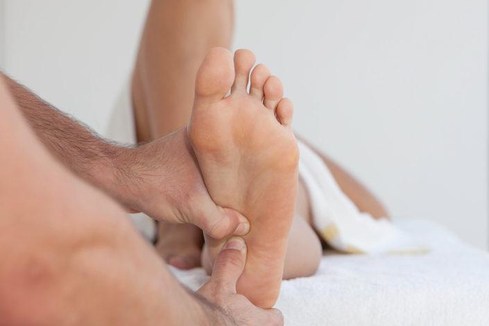 Fußreflexzonenmassage - Beispielbild